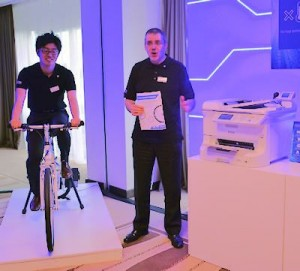 Epson Bike Printer Vienna launch 03-2014